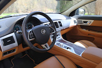 jaguar xf 2015 tan leather london tan