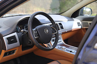 jaguar xf london tan interior