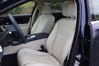 jaguar xjl awd semi aniline front leather seats