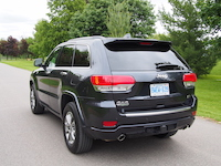 jeep grand cherokee ecodiesel rear