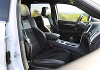 2015 jeep grand cherokee srt interior seats