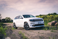 jeep grand cherokee srt track car
