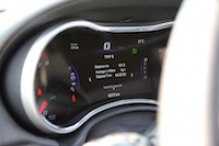 jeep grand cherokee srt gauges