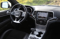 jeep grand cherokee srt carbon fibre interior