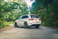 2015 jeep grand cherokee srt rear view