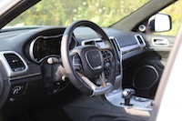 jeep grand cherokee srt suede leather interior