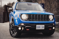 jeep renegade trailhawk front