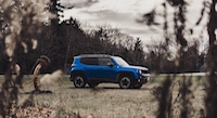 jeep renegade trailhawk from a distance
