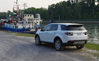 discovery sport boat dock