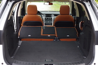 discovery sport seats folded down trunk