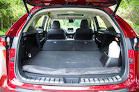 lexus nx300h cargo volume rear seats folded