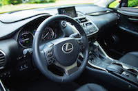 lexus nx300h steering wheel