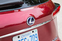 lexus hybrid badge