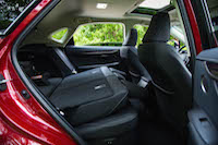 lexus nx300h rear seats folded down