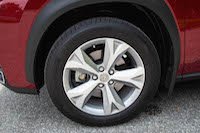 lexus nx300h tires wheels