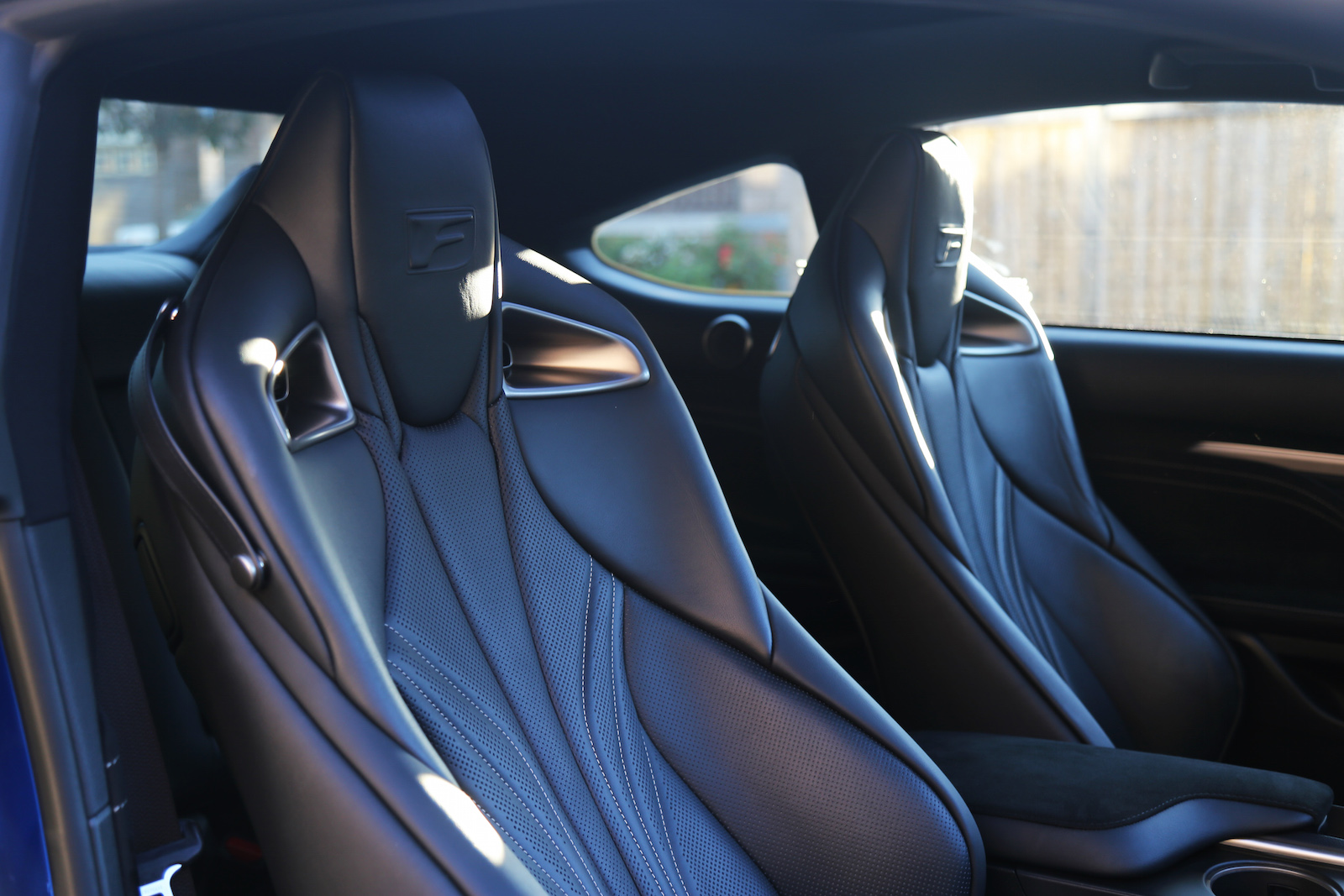 lexus rc seats rcf specifications