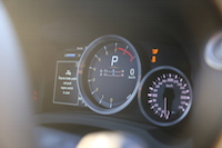 lexus rcf sport+ mode gauges