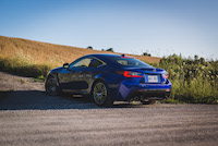 lexus rcf quad exhaust