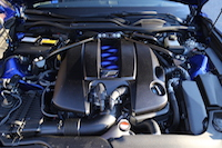 lexus rcf v8 engine bay