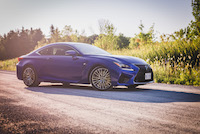 lexus rcf ultrasonic blue mica