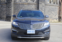 lincoln mkc front view
