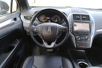 lincoln mkc black interior
