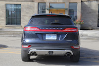 lincoln mkc rear tail lamps