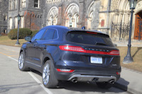 lincoln mkc blue rear tail lights
