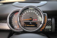 mini cooper s speedo