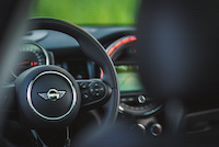 mini cooper s black interior