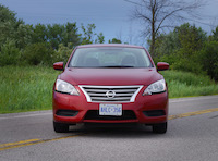 2015 nissan sentra red