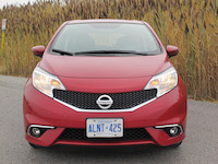 2015 nissan versa note sr red