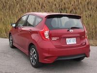 nissan versa note red