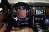 range rover lwb autobiography leather tan brown