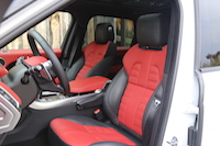 range rover sport front seats autobiography