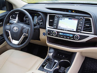 toyota highlander hybrid dashboard steering wheel