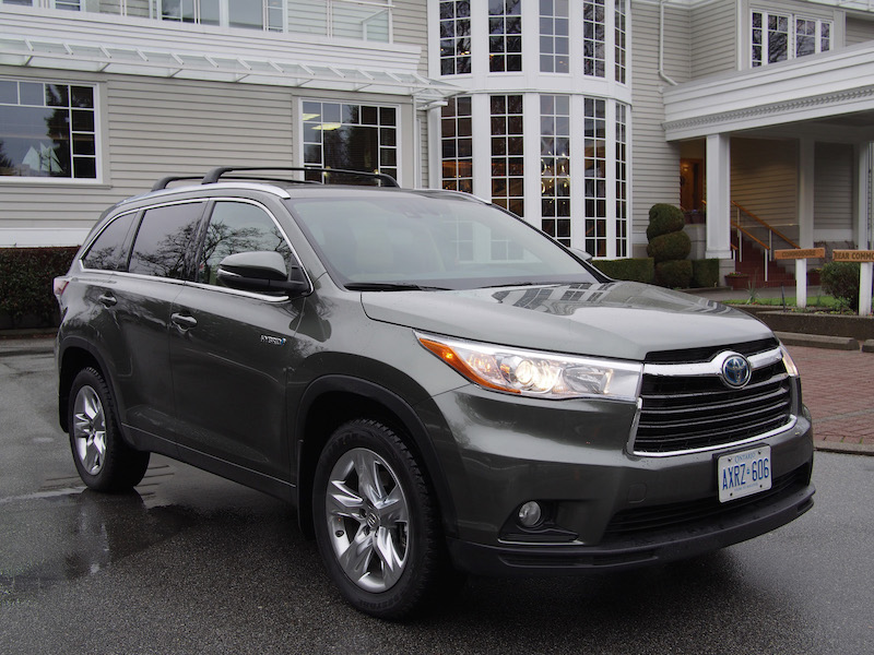 2015 toyota highlander hybrid review