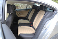 volkswagen cc sport seats black leather beige