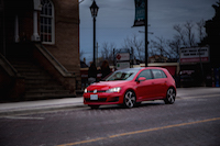 volkswagen golf gti tornado red