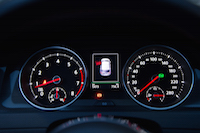 volkswagen golf gti gauges