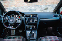 volkswagen golf gti interior plaid