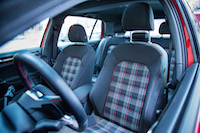 volkswagen golf gti plaid seats
