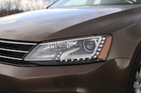 volkswagen jetta diesel xenon head lights