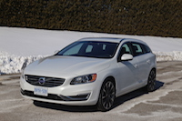 volvo v60 t5 drive-e front side view