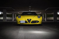 2016 Alfa Romeo 4C Spider yellow paint exclusive