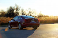cadillac ats coupe review