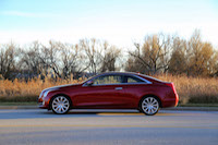 cadillac ats coupe side view