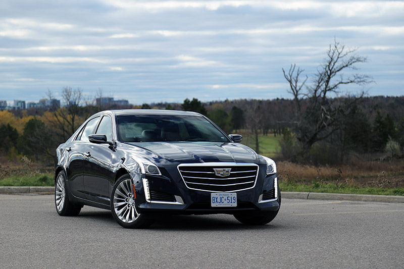 2016 cadillac cts sedan canada review
