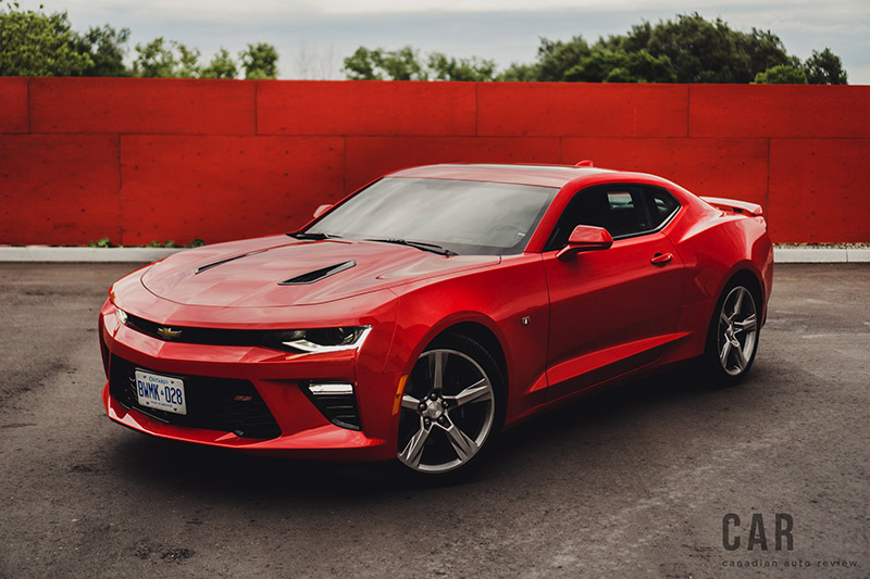 2016 Chevrolet Camaro SS red hot paint