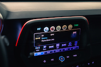 2016 Chevrolet Camaro SS display